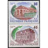 Polinésia Francesa - Agências Dos Correios 1989 - S/comp C1