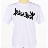 Camisa Camiseta Personalizada Banda Rock Judas Priest