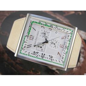 Relógio Calvin Klein Retangular Cronografo Suiço Original