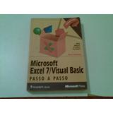 Livro Microsoft Excel 7 Visual Basic Passo A Passo