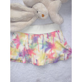 Short Saia Cotton E Meia Malha/visco Have Fan Hf0212