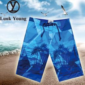 Bermuda Praia Shorts Surf Masculina Novo Luuk Young Y072