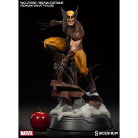 Wolverine Brown Ver. Premium Format 1/4 Statue Sideshow