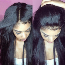Peruca Full Lace 60cm Silk Top Wig Cabelo 100% Humano