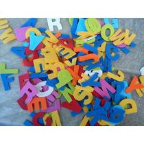 Letras En Goma Eva -paquetes X 108 Unidades..