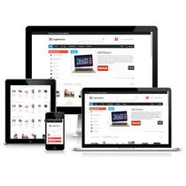 Loja Virtual Site Editável Integrada Com Mercadopago Bcash