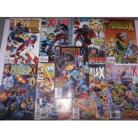 Lote Xmen Marvel Comics 9 Nros Satinado - Arjoes Store