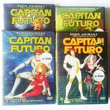 Capitan Futuro 4 Dvd Originales Y Sellados, Excelente Estado