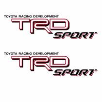Sticker Autos - Calcomania - Vinil - Logo Trd Sport Tacoma