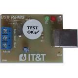 Interfaz Usb Rs485 Ftdi Con Protecciones Y Tierra Itytarg