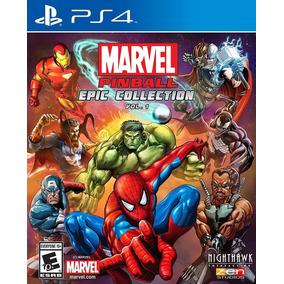Marvel Pinball: Epic Collection Vol. 1 - Ps4 - Mídia Física
