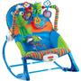 Cadeira Descanso Vibratoria Fisher-price Sapinho 0 18kg