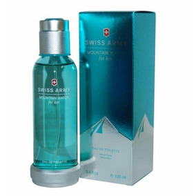 Perfume Para Dama Swiss Army Mountain Water 100 Ml Panameños