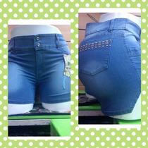 Short De Dama Jeans Sexy Xl, Xxl, Xxxl, Gorditas Plus