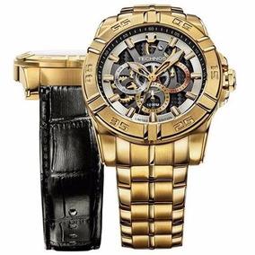 Relógio Masculino Technos Sports 6p79as/4c Troca Pulseira