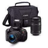 Camara Canon T5i Doble Lente 18-55mm Y 55-250mm Estuche