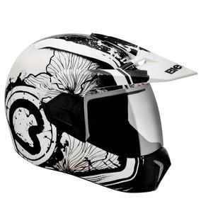 Lançamento Capacete Bieffe 3 Sport Spring Grafite Motocross
