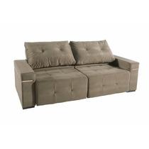 Sofa Com Mola Espirais Encosto Articulado,assentos Retráteis