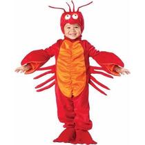 Disfraz De Cangrejo Primavera Niños Langosta De 1 A 4 Años