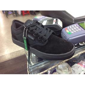 Zapatos Oklesh Todo Negro Colegial Negro