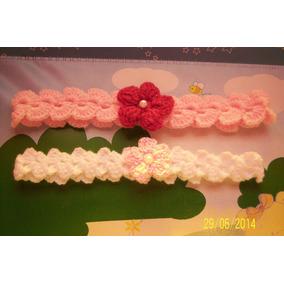 Vincha Tejida Al Crochet Diferentes Motivos