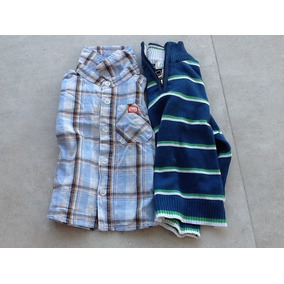 110. Lote: Camisa Y Sweater Nene 12-24 Meses Childrens Place