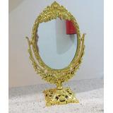 Espelho De Mesa Dupla Face Provençal Maquiagem Princesa
