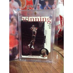 Michael Jordan Tarjeta Ud3 The Winning Edge 96-97 Vv4