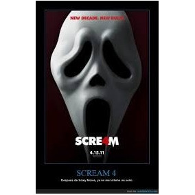 Mascara De Terror Scary Movie Scream Con Lengua!!