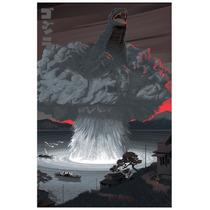 Godzilla By Laurent Durieux [2015] (70x50cms)