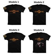 Camiseta Camisa Algodão God Of War Playstation Ps2 Ps3 Ps4