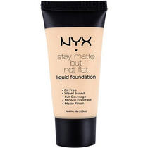 Base Nyx Stay Matte Bur Not Flat