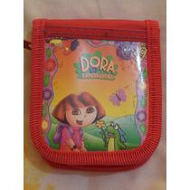 Cartera Billetera Dora La Exploradora 100% Original Roja