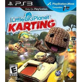 Little Big Planet Karting Ps3 Estuche De Carton Sellado