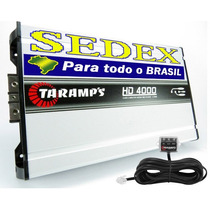 Módulo Taramps Hd 4000 Amplificador Digital 4798w Rms +sedex
