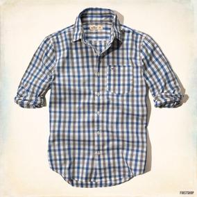 Camisa Hollister By Abercrombie Escocesa Clásica Talla M