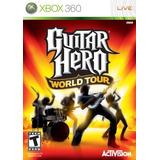 Guitar Hero World Tour Xbox 360 Nuevo Sellado