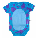 Body Sulley Fantasia Bebê Pixar Monstros Sa