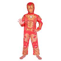 Disfraz De Ironman Con Licencia Marvel Original New Toys