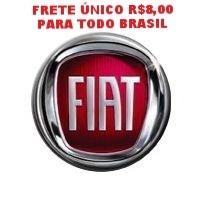 Emblema Logo Chave Canivete Fiat Original Aluminio + Barato