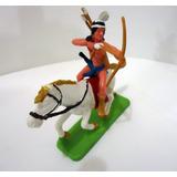 Forte Apache Gulliver Índio Arco Cavalo Pintado A Mão