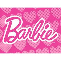 Kit Imprimible Barbie Candy Bar Etiquetas Invitaciones Logo