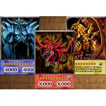 3 Deuses Egípcios Estilo Anime