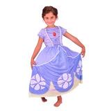 Disfraz De Sofia Talle 2 Con Lic Disney Original New Toys