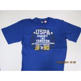 Camiseta U.s. Polo Assn - Tamanho (m) Juvenil - 18 Anos