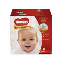 Pañales Huggies Little Snugglers Tamaño 2 186 Pcs Bebe Paque