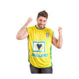 Camiseta Bata Brasil Oficial L Fifa Copa 2014 Nova