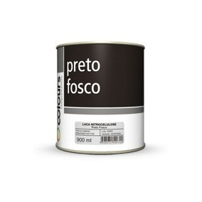 Tinta Automotiva Duco Preto Fosco 900ml