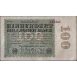 Alemania, 100000000 Mark 22 Ago 1923 P107d