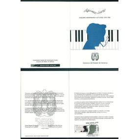Mexico 1989 Agustin Lara Folder Fdc Oficial Correo Raro Impe